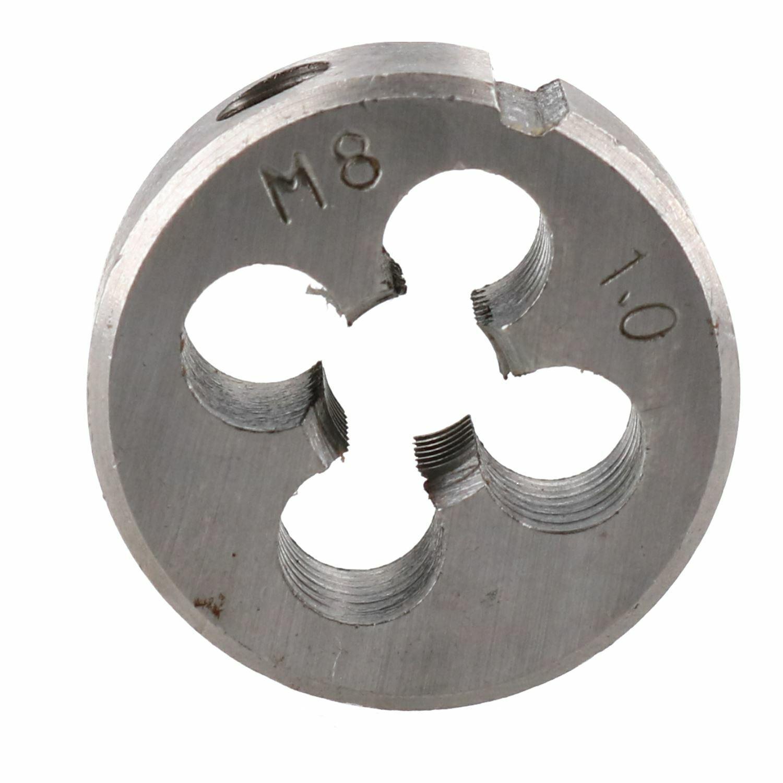 Round M7 x 0.75 1.0 Metric Die Hardened Tungsten Steel Hex Die Nut UK Seller