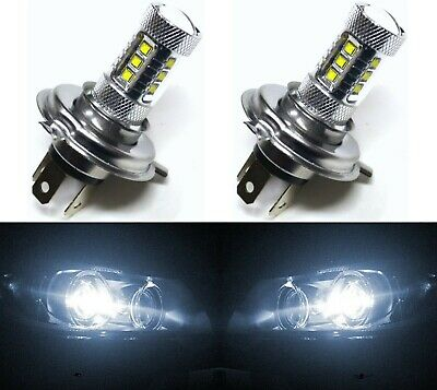 LED 80W HS1 White 5000K Two Bulbs Head Light Replacement ATV UTV Replace