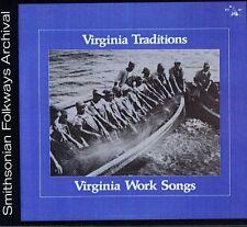 Various Artists - Virginia Work Songs / Various [New CD]
