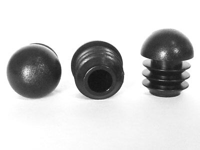25mm-10plugs Domed Round Plastic Blanking End Cap Caps Tube Insert