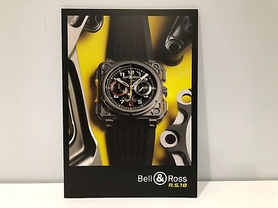 Bell And Ross Watches >> Booklet Bell Ross Renault Sport Formula One Team R S 18 English Watches Ebay