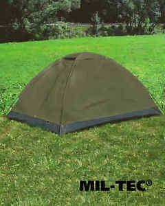 Mil-Tec-ZWEIMANNZELT-IGLU-STANDARD-OLIV-Zelt-Outdoor-Camping
