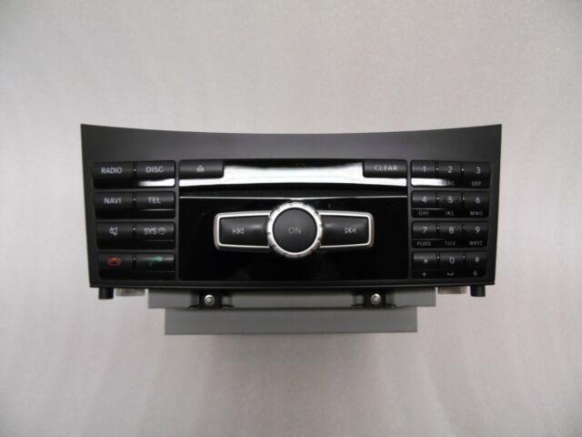 Mercedes E Klasse S212 W212 Navigation Navigationssystem Einbauradio Radio