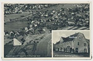 AK-Niederlinxweiler-Saar-Schneider-Kolonial-u-Eisenwaren-Y842