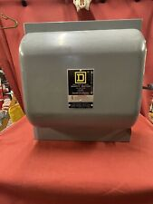 Square D 100 Amp Double Throw Safety Switch