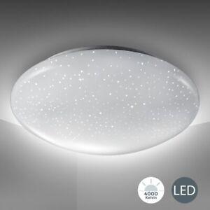 24W Dimmbar LED Deckenlampe Sternenhimmel Deckenleuchte Wohnzimmer Schlafzimmer