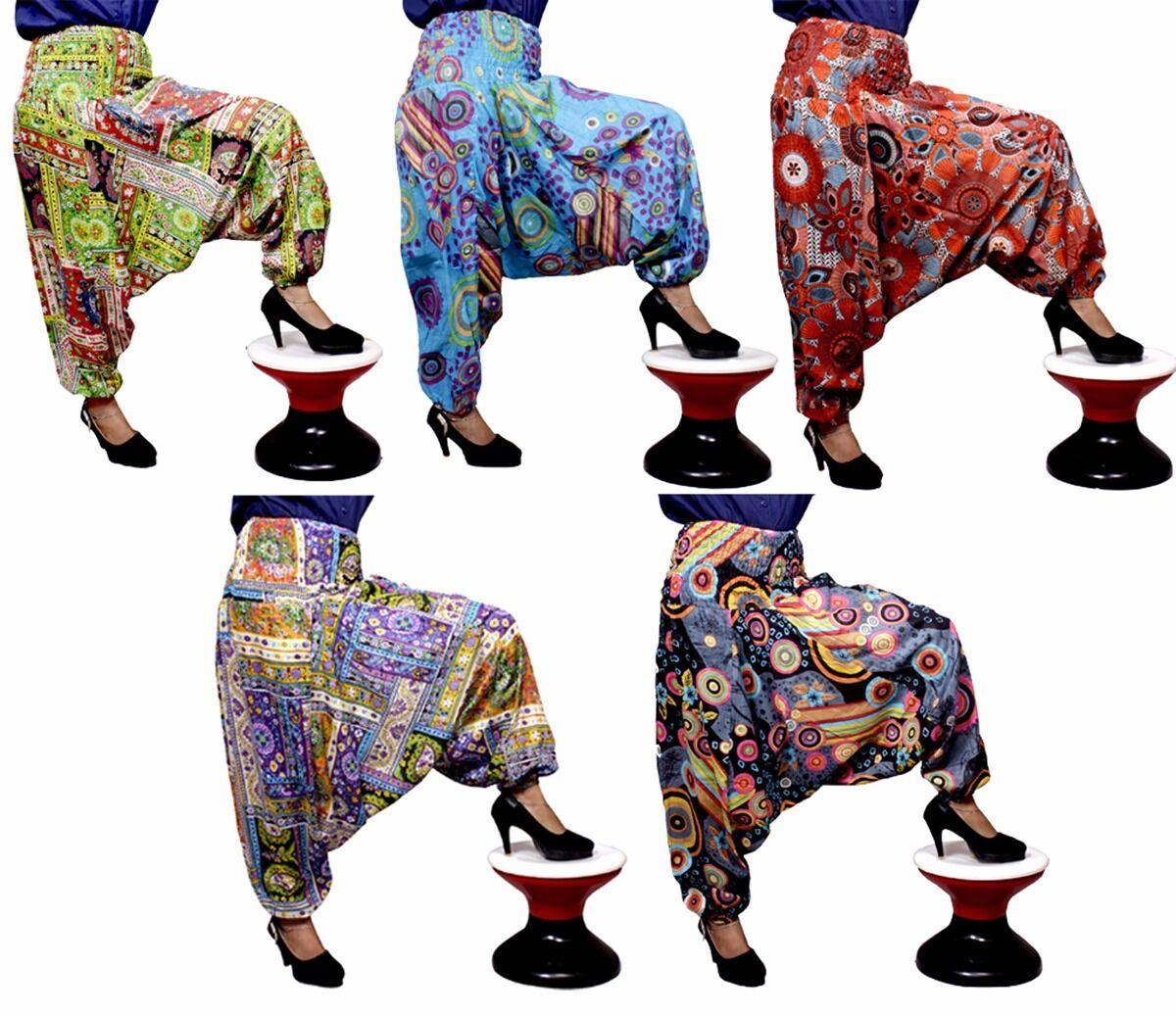 Apparels India 10Pc Aladdin Afghani Harem Baggy USA Hippie Pants Wholesale Lot