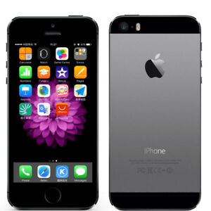 Smartphone-Apple-iPhone-5s-16-Go-Gris-Sideral-DEBLOQUE-TOUT-OPERATEUR-Touch-ID
