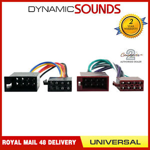 Details about CT20UV01 Universal ISO Car Radio Stereo Headunit Wiring on