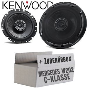 Kenwood Haut-Parleur pour Mercedes Classe C w202 Armoire Boxe 16 cm Voiture Kit de montage