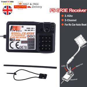 FlySky-FS-GR3F-2-4Ghz-3CH-Receiver-For-FS-GT3C-GT3B-RC-Car-Boat-transmitter-NEW