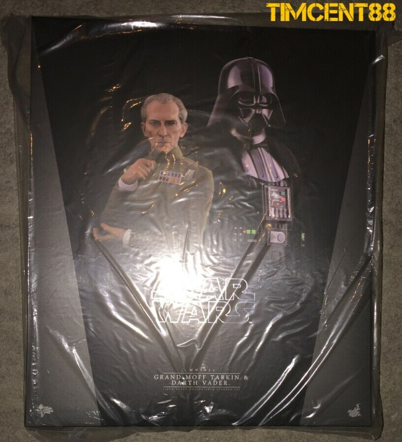 Prêts  Hot Toys MMS434 Star Wars IV Un nouvel espoir Grand Moff Tarkin Darth Vader Set