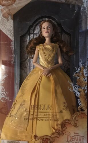 "Disney Store Beauty & The Beast BELLE FILM COLLECTION DOLL 11.5"" Live Action NEW"