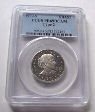 1979 - S PCGS SUSAN B ANTHONY GEM  PROOF 69 DEEP CAMEO TYPE 2 ONE DOLLAR