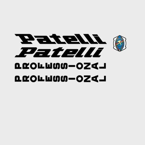 Patelli Bicycle Decals Stickers n.3 Transfers