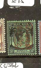MALAYA JAPANESE OCCUPATION (P0304B)  STRAITS SETTLEMENTS 50C  SGJ157   MOG