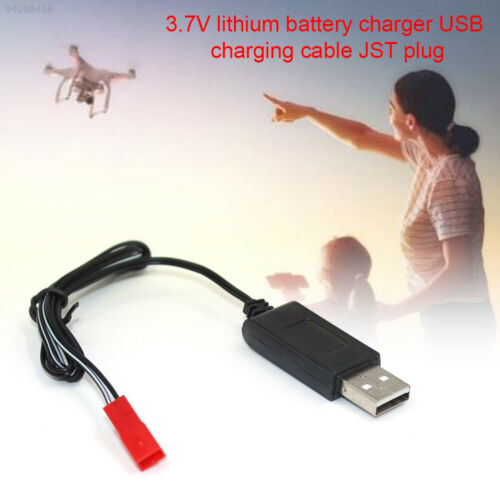 136C X54HW Airplane Durable USB Cable Power Black ABS Charger Cable