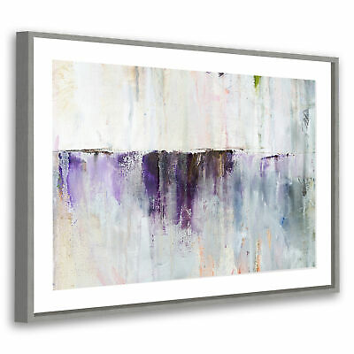 AB057 Pink Blue 3D Marbles Modern Abstract Framed Wall Art Large Picture Prints