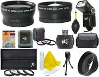 Bundle Lens Filter Accessory Kit For Nikon D5300 D5200 D5100 D5000 D3300 D3200