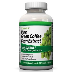 Sorvita Pure Green Coffee Bean Extract With Svetol Weight Loss