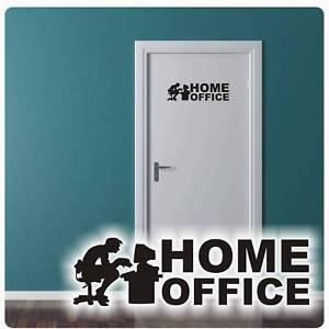 Home Office Wandtattoo Turaufkleber Buro Aufkleber Tur Aufkleber