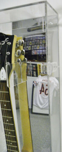 Guitar Framing Guitar Display Case with Mirror Back Guitar Acrylic Case