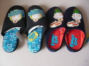 47e65e6fc5a757 Primark Warm Cosy Novelty Family Guy Slippers As seen on TV Black or ...