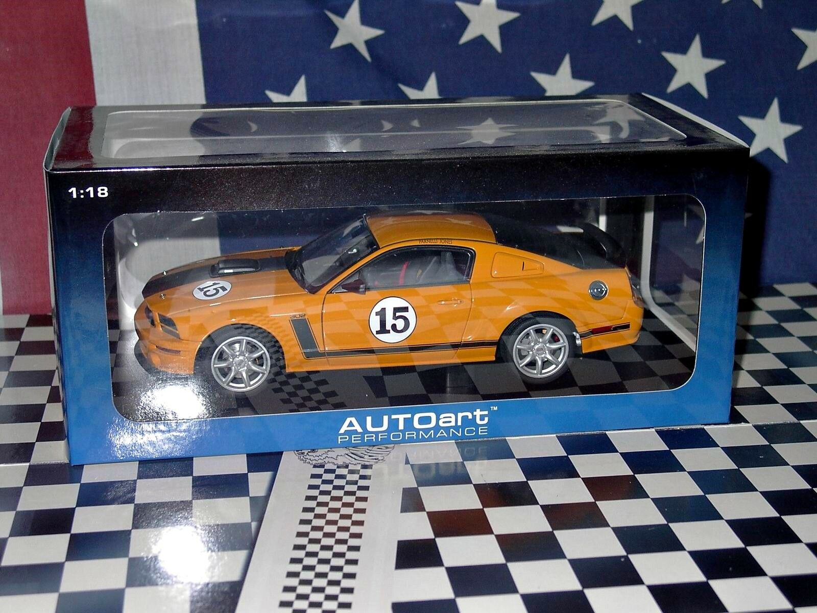 1 18 AUTOart Ford Mustang Saleen  Parnelli Jones