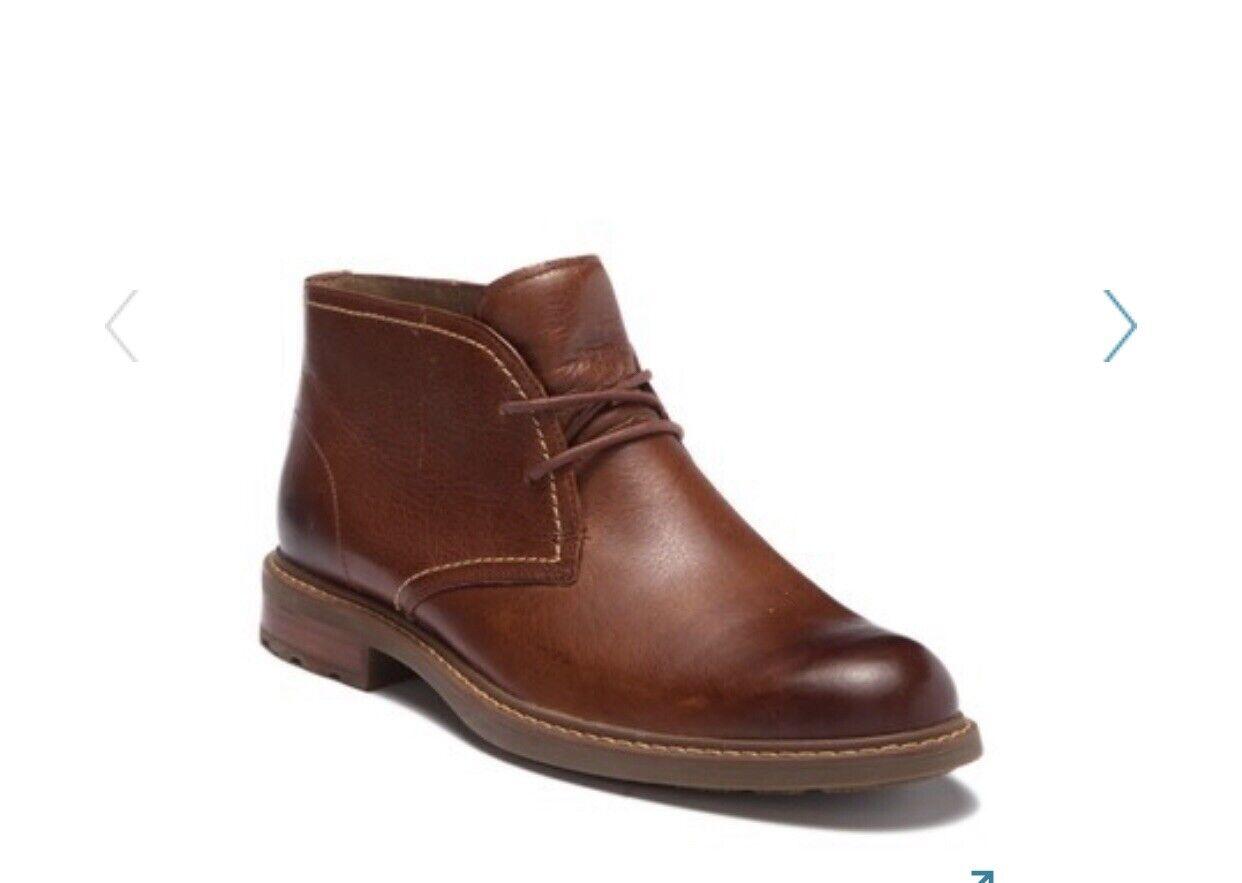 Sperry Men's Annapolis Desert Chukka Boot, Dark Tan Size 8