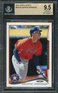 2014-topps-update-us10a-GEORGE-SPRINGER-houston-astros-rookie-card-BGS-9-5