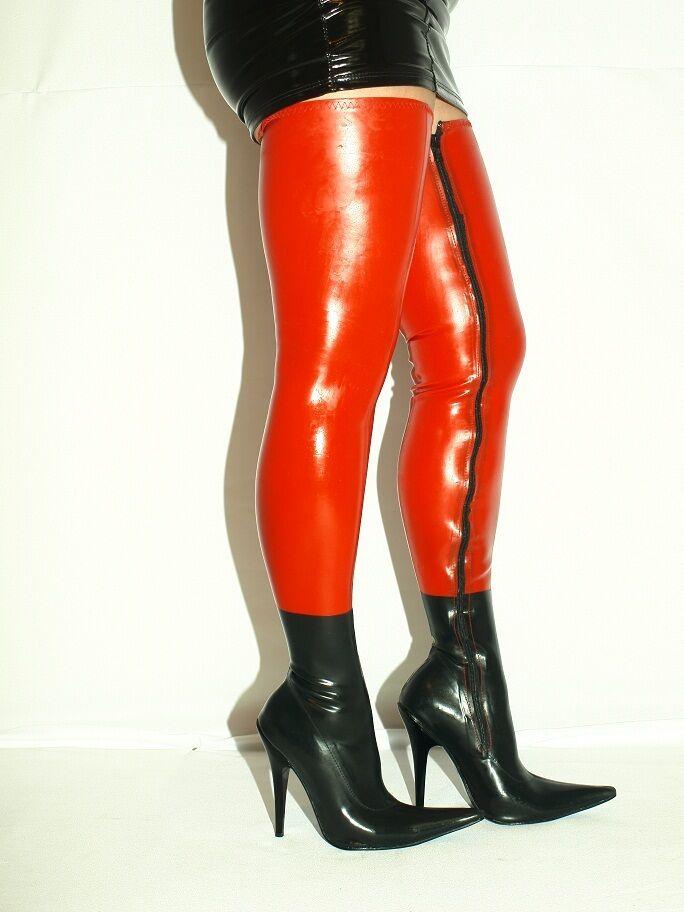 High heels, stiefel latex -100% -size 35-47 producer -Polen -heels 13cm 1025