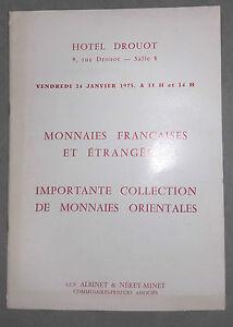 1975-Catalogue-de-vente-Hotel-Drouot-Salle-N-8-MONNAIES-FRANCAISES-ORIENTALES