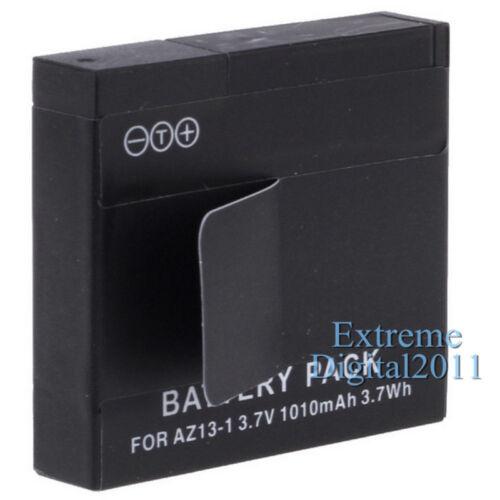 Cargador doble para cámara deportiva Xiaomi Yi 3x batería para Xiaomi Yi AZ13-1 Batería