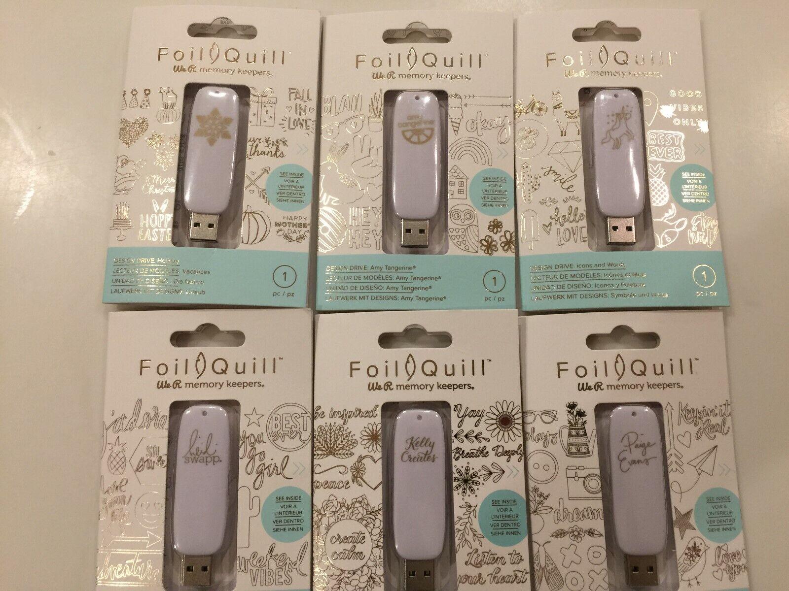 FOIL QUILL USB DRIVE ALPHABET