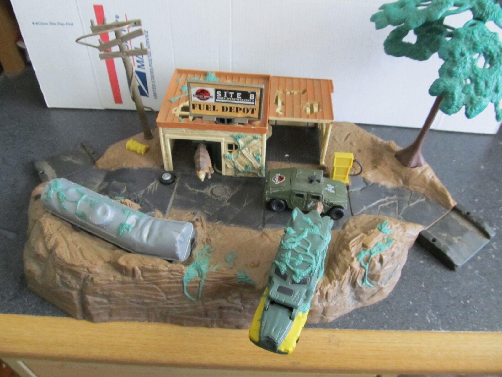Die verlorene welt  jurassic park  matchbox - seite b depot vintage1996 playset 100%