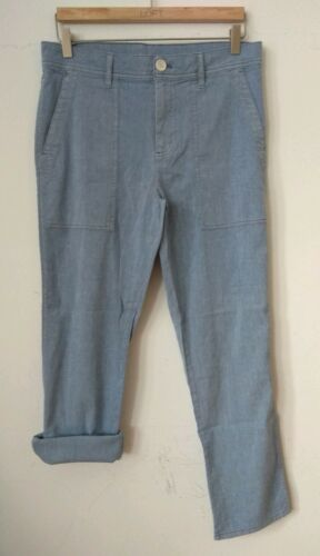 James Perse Size Relaxed Pants 26 Workwear Blue Nwot qTnRSdB4T