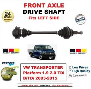 DRIVE SHAFT AXLE FITS FOR VW CARAVELLE 2.0 TDI TSI BiTDI 2009-2015 RIGHT HAND