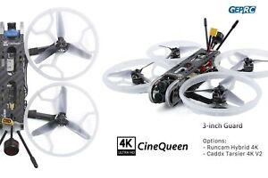 "GepRC FPV CineQueen 4K Caddx Tarsier V2 3"" CineWhoop Drone XM+ Receiver USA Ship"
