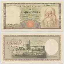 "REPUBBLICA ITALIANA - 50000 Lire ""Leonardo"" 1970 (2)"
