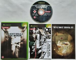 XBOX-Silent-Hill-4-The-Room-PAL-EXCELLENT-CONDITION
