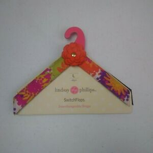 Lindsay-Phillips-Interchangeable-Straps-Switch-Flops-Size-L-9-10-Skye