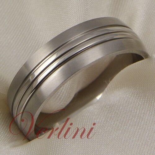 Titanium Wedding Band Men/'s Ring Dome Matte Bridal Jewelry Brushed Size 6-13