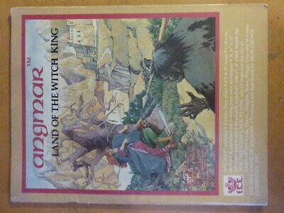 Angmar Land Del Re Stregone Merp Ice Il Signore Degli Anelli Rolemaster Con Mappa-mostra Il Titolo Originale Squisita Arte Tradizionale Del Ricamo