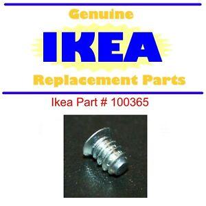 FREE UK P/&P draw runner X 8 100365 GENUINE IKEA screws