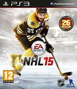 NHL 15 ps3 Playstation 3 PEGI 12+ brand new & factory sealed schneller kostenloser Versand