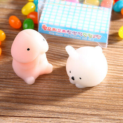 Cute Jumbo Squishy Dingding Cat Scented Slow Rising Kids Toy Soft Phone Strap