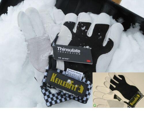 warm 6 Paar Keiler Forst gefüttert Keiler FIT Winter Handschuhe  GR.10 NEU