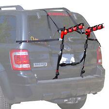 Trunk-Mount 3-Bike Carrier Hatchback SUV or Car Sport Bicycle Rack