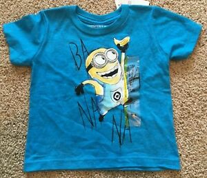 Despicable ME Halloween Minion Long Sleeve Toddler T-Shirt  Sizes 12 Mon to 4T