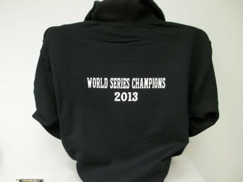 Choice of Hoodie Color Printed Front and Back World Series Champion Hoodie